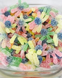 Pulpos multicolor ácidos con pica pica