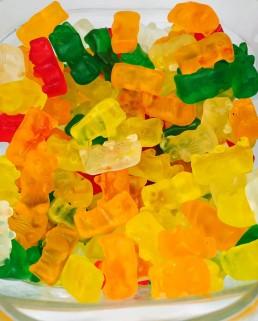 Ositos brillo multicolor sin gluten